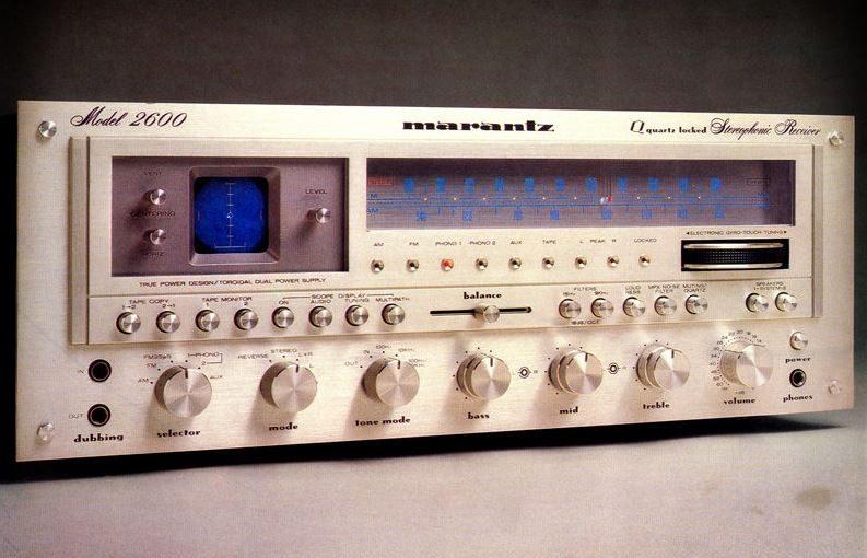 Hifi Vintage – Ampli-tuner Marantz Model 2600 (1978-80)