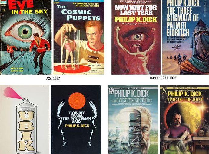 Livres SF – Philip K.Dick – Cinq romans des Années 70
