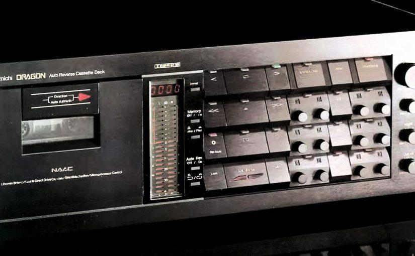 Hifi Vintage – Platine cassette Nakamichi Dragon (1982-93)