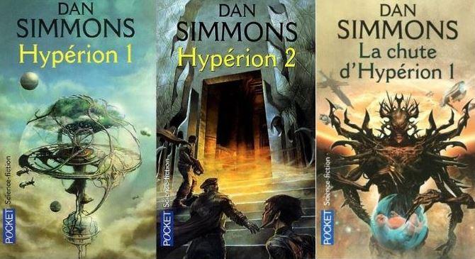 Livre SF – Dan Simmons – Les cantos d'Hypérion (1989-90)