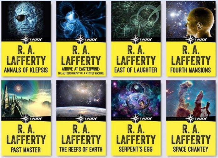 Livres SF – Raphaël Lafferty – Deux romans des années 80