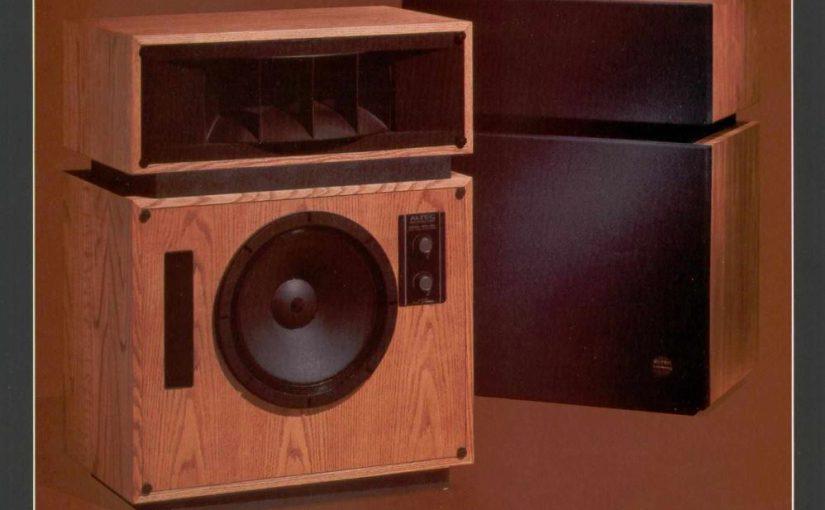 Hifi Vintage – Enceintes Acoustiques Altec Model 19 (1976-81)