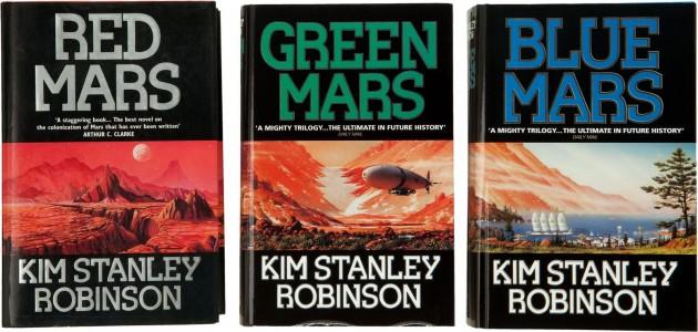 Livre SF – Kim Stanley Robinson – Mars la rouge (1993)