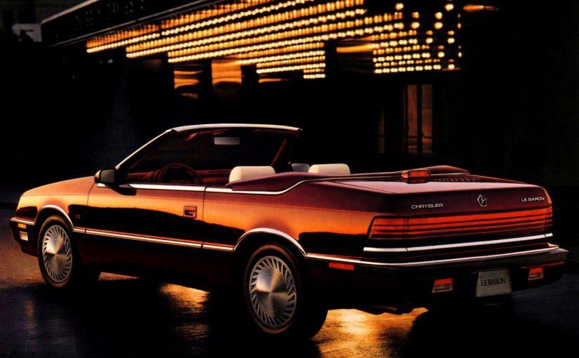 Youngtimer – Chrysler Le Baron Cabriolet GTC (1987-95)