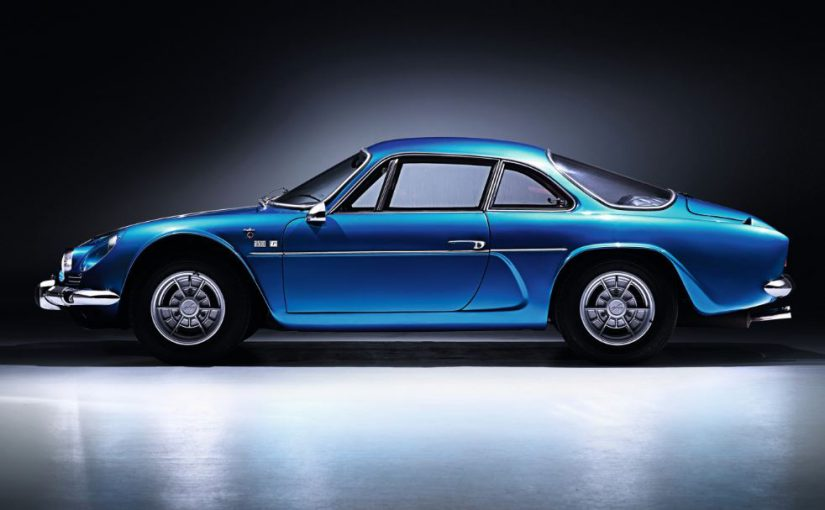 oldtimer - alpine a110  1962-77