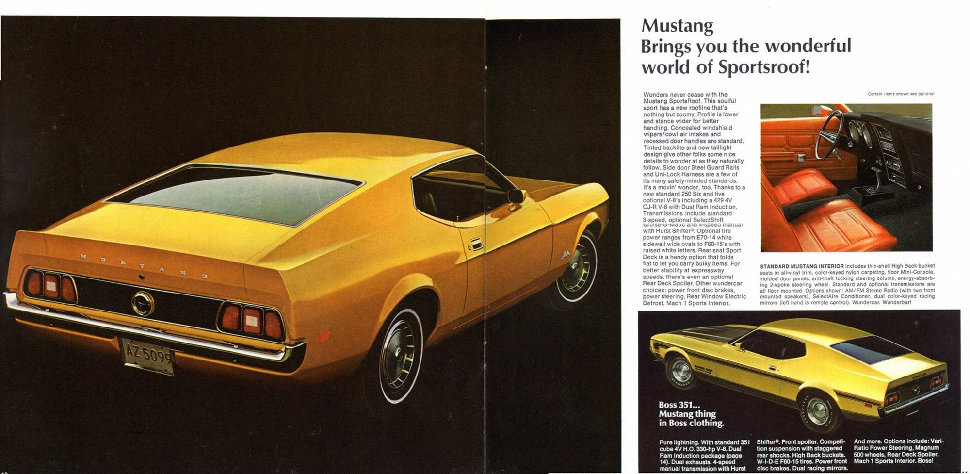 ford mustang fastback 1971 pub 05 echoretro. Black Bedroom Furniture Sets. Home Design Ideas