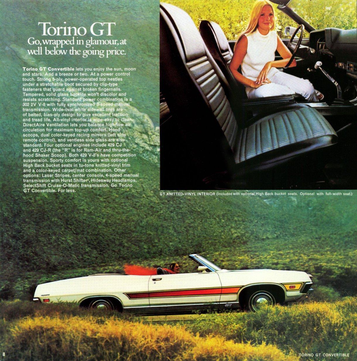 ford torino 1971 pub 04 echoretro. Black Bedroom Furniture Sets. Home Design Ideas