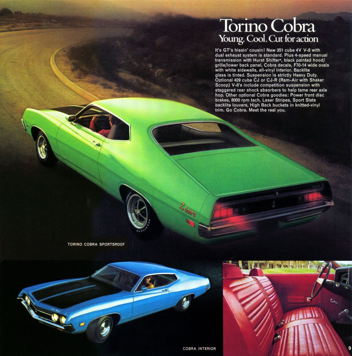 ford torino 1971 pub 05 echoretro. Black Bedroom Furniture Sets. Home Design Ideas
