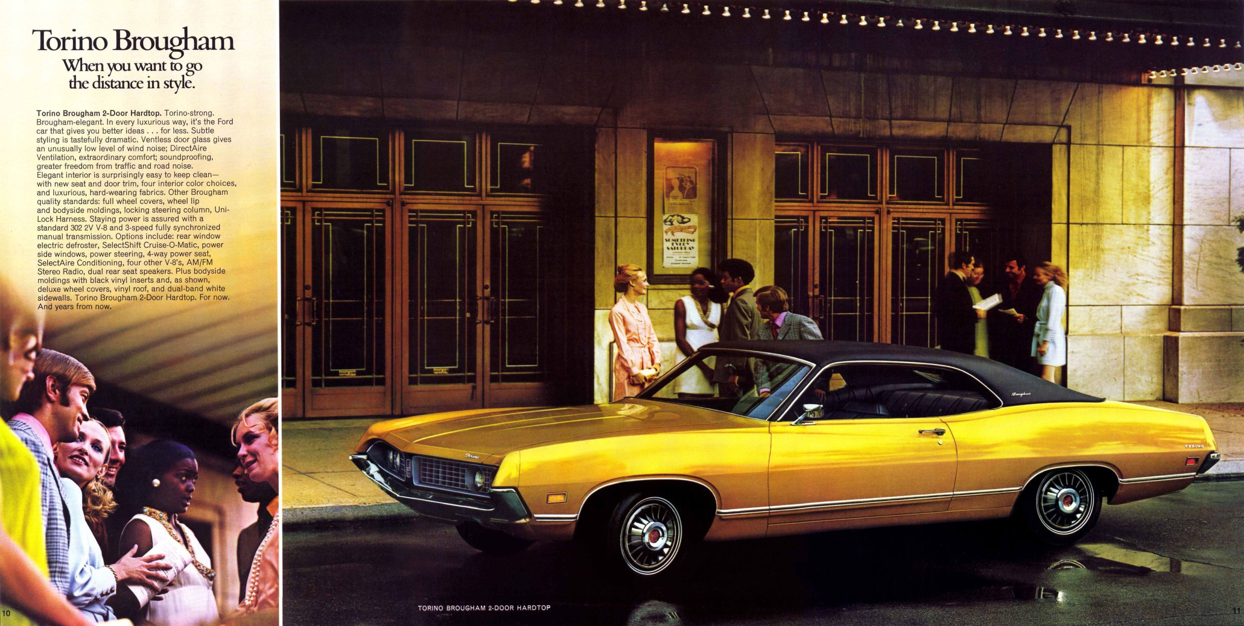 ford torino 1971 pub 06 echoretro. Black Bedroom Furniture Sets. Home Design Ideas