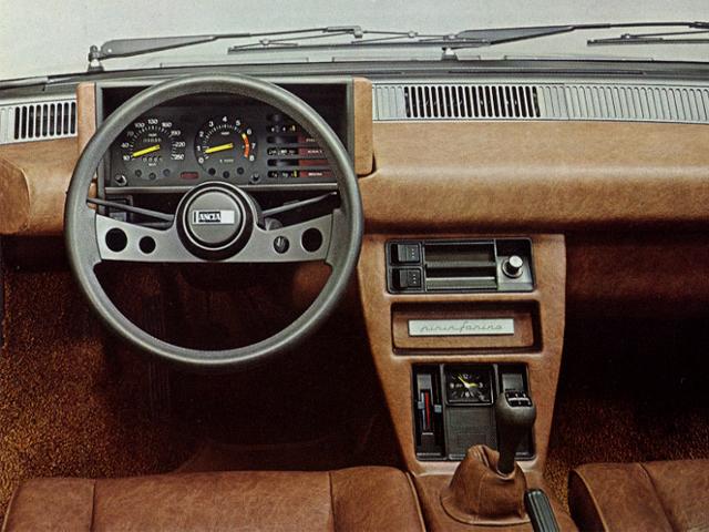 Lancia Beta Monte-Carlo Tableau de bord - Echoretro