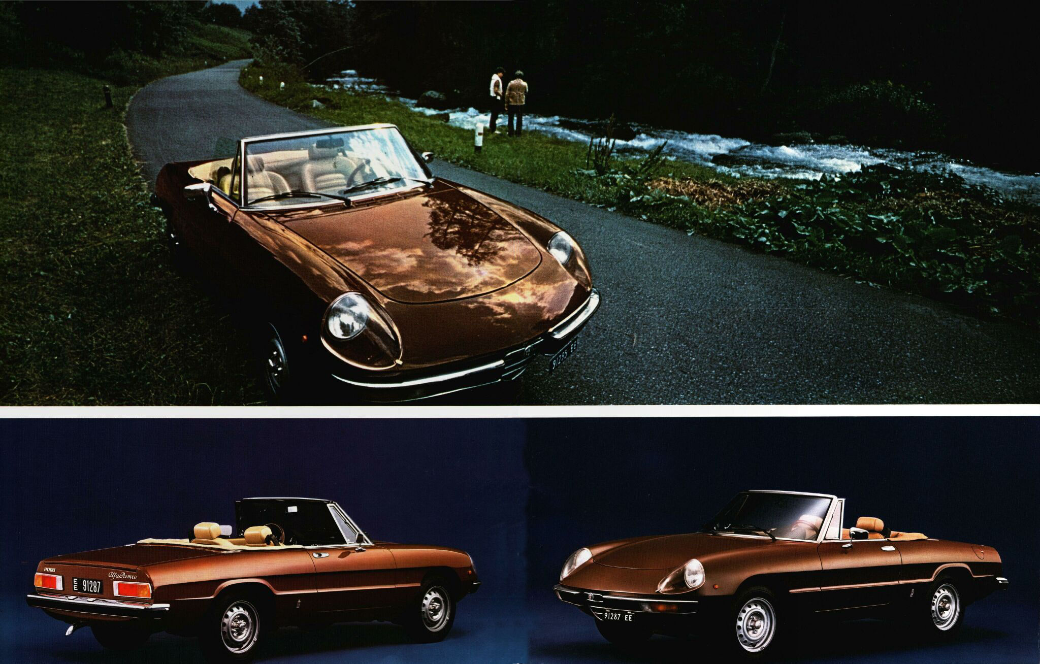 alfa spider 2000 veloce 1981 pub 01 echoretro. Black Bedroom Furniture Sets. Home Design Ideas