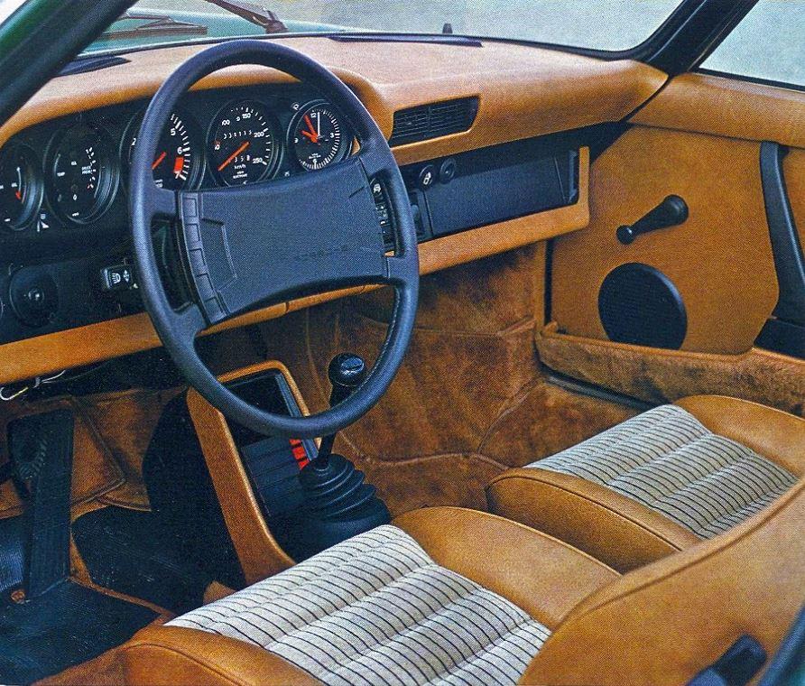 Porsche 911 sc int rieur avant echoretro for Interieur 911