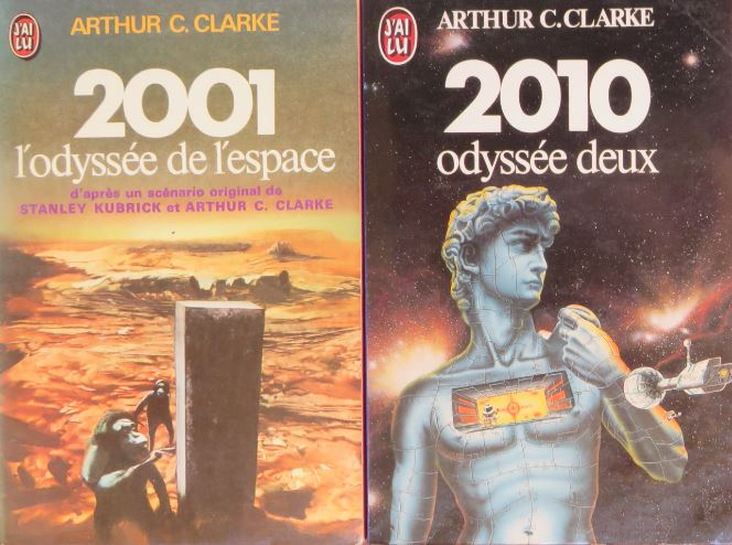 Livre SF et Film – Arthur C. Clarke – 2010 : Odyssée deux (1982)