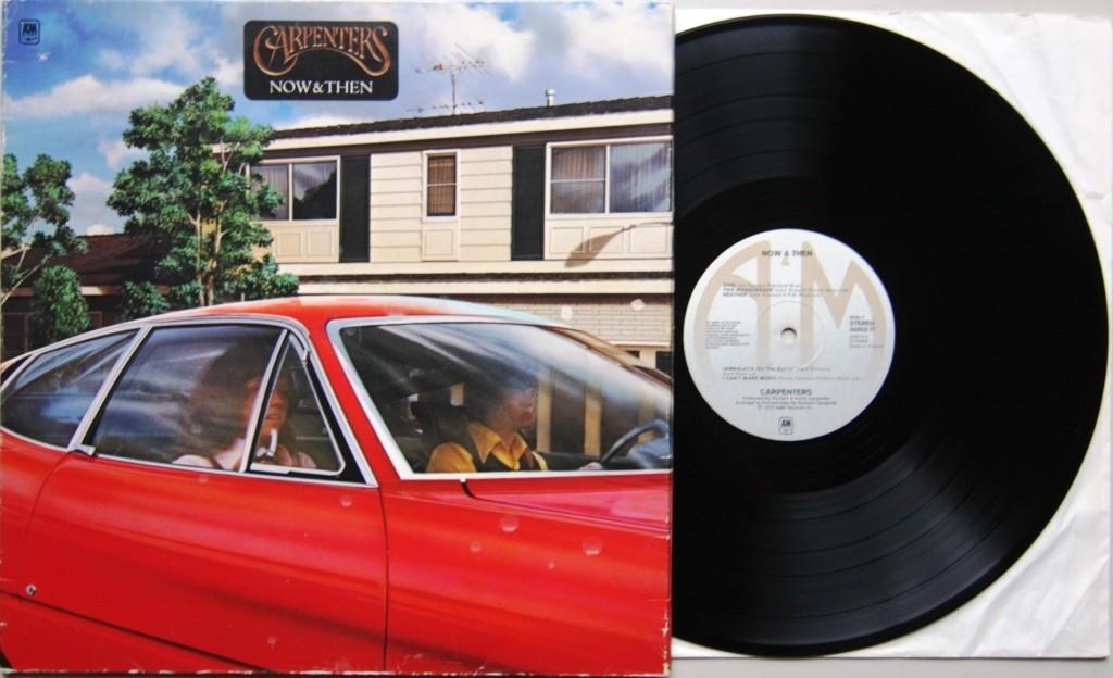 Album The Carpenters Now And Then 1973 Echoretro