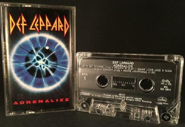 Album – Def Leppard – Adrenalyse (1992)