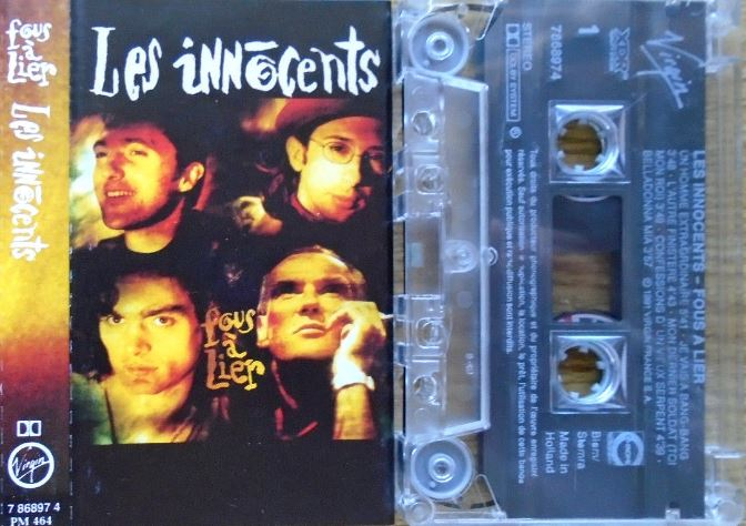 Album – Les Innocents – Fous à Lier (1992)