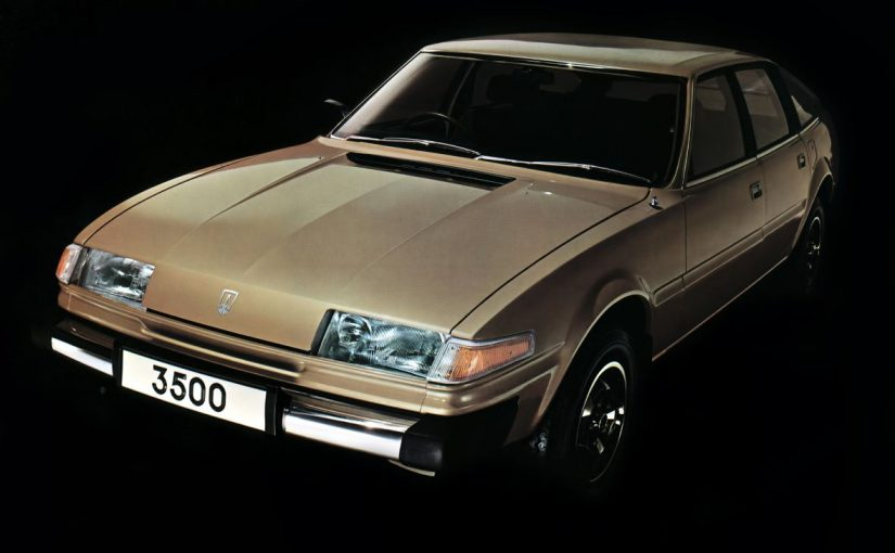 Youngtimer – Rover SD1 3500 (1976-86)