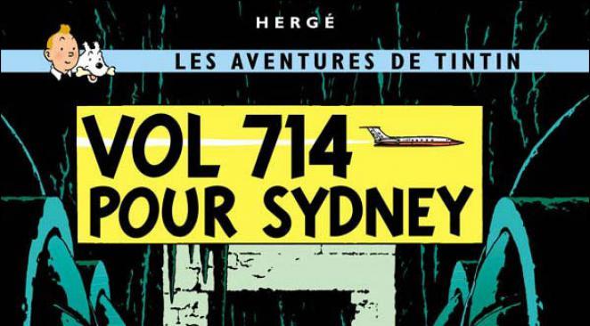 Série TV et Album BD – Hergé et la SF : Vol 714 pour Sydney (1992)