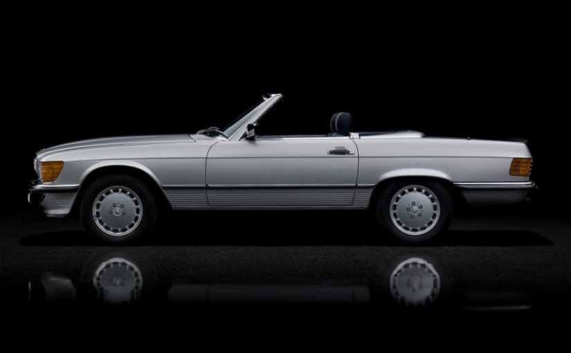 Youngtimer – Mercedes classe SL (1971-1989)