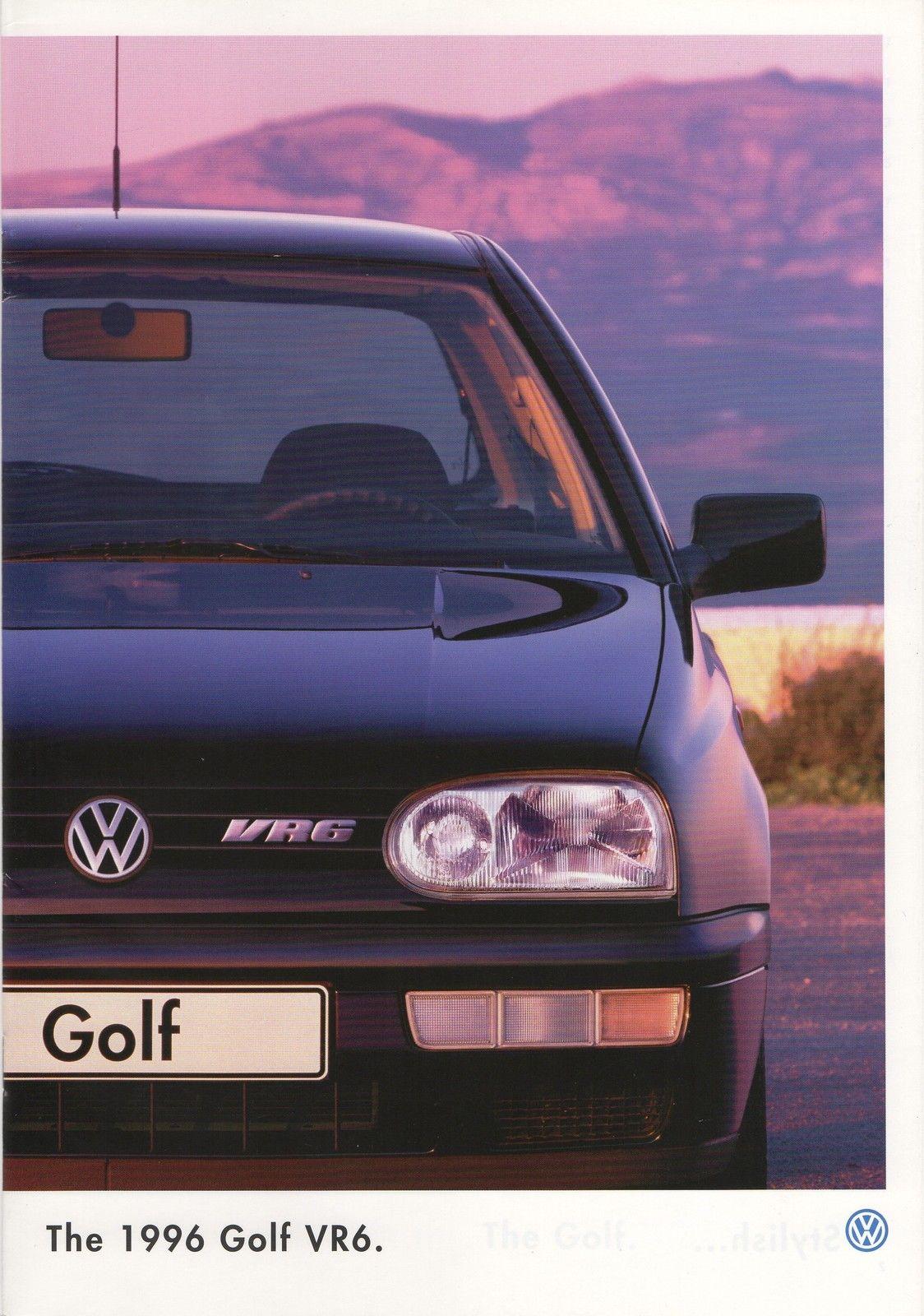 volkswagen golf iii vr6 brochure echoretro. Black Bedroom Furniture Sets. Home Design Ideas
