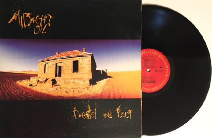 Album – Midnight Oil – Diesel and Dust (1987)