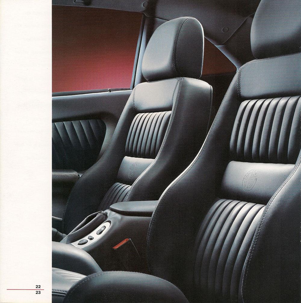 Alfa Romeo GTV Intérieur