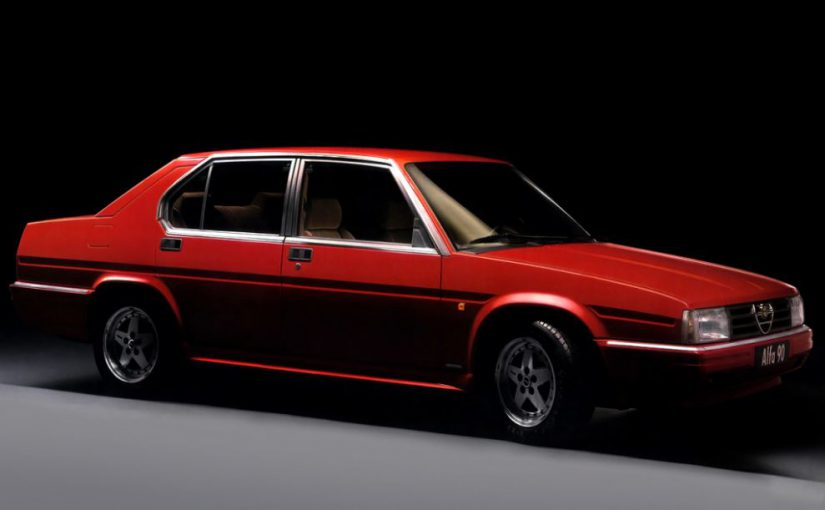 Youngtimer – Alfa Romeo 90 (1984-87)