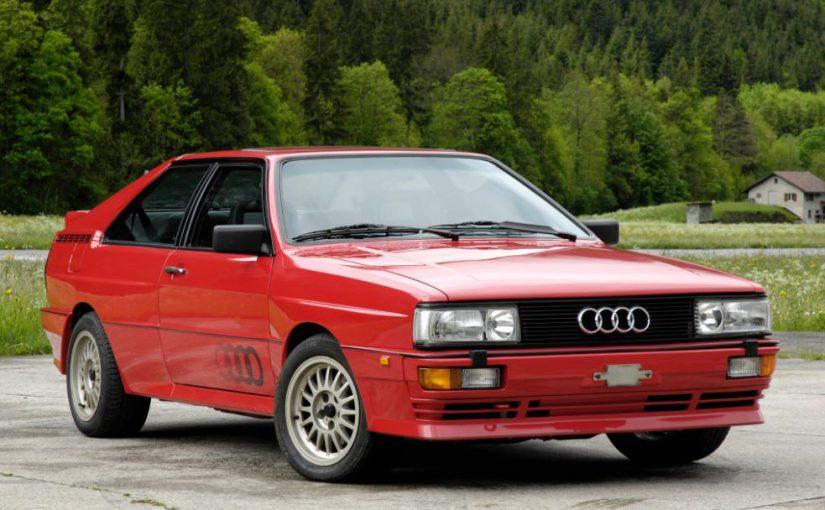 Youngtimer – Audi Coupé Quattro (1980-91)
