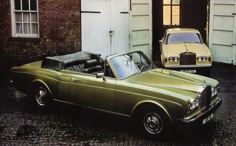 Oldtimer – Rolls-Royce Silver Shadow (1966-80) & Corniche (1971-86)