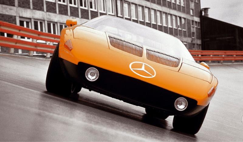 Oldtimer – Mercedes C111 (1969-1978)