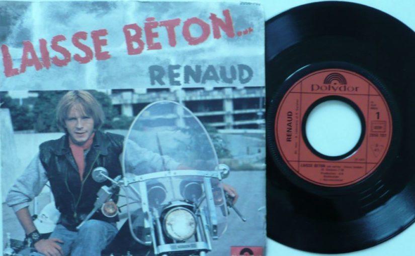 Disque – Renaud – Laisse Béton (1977)